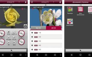 Пульт для телевизора на телефоне Android, iPhone и на планшете