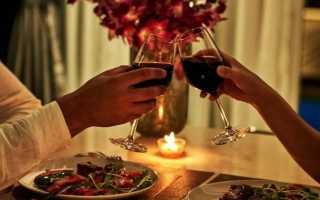 Бюджетный романтический ужин на двоих дома: что вы можете сделать для своего любовника или любимого человека дома