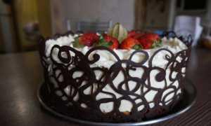 Сладкое творчество: украшаем торт шоколадом