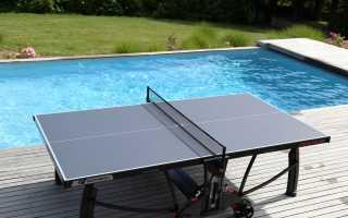 Как сделать надёжный и практичный стол для пинг-понга своими руками
